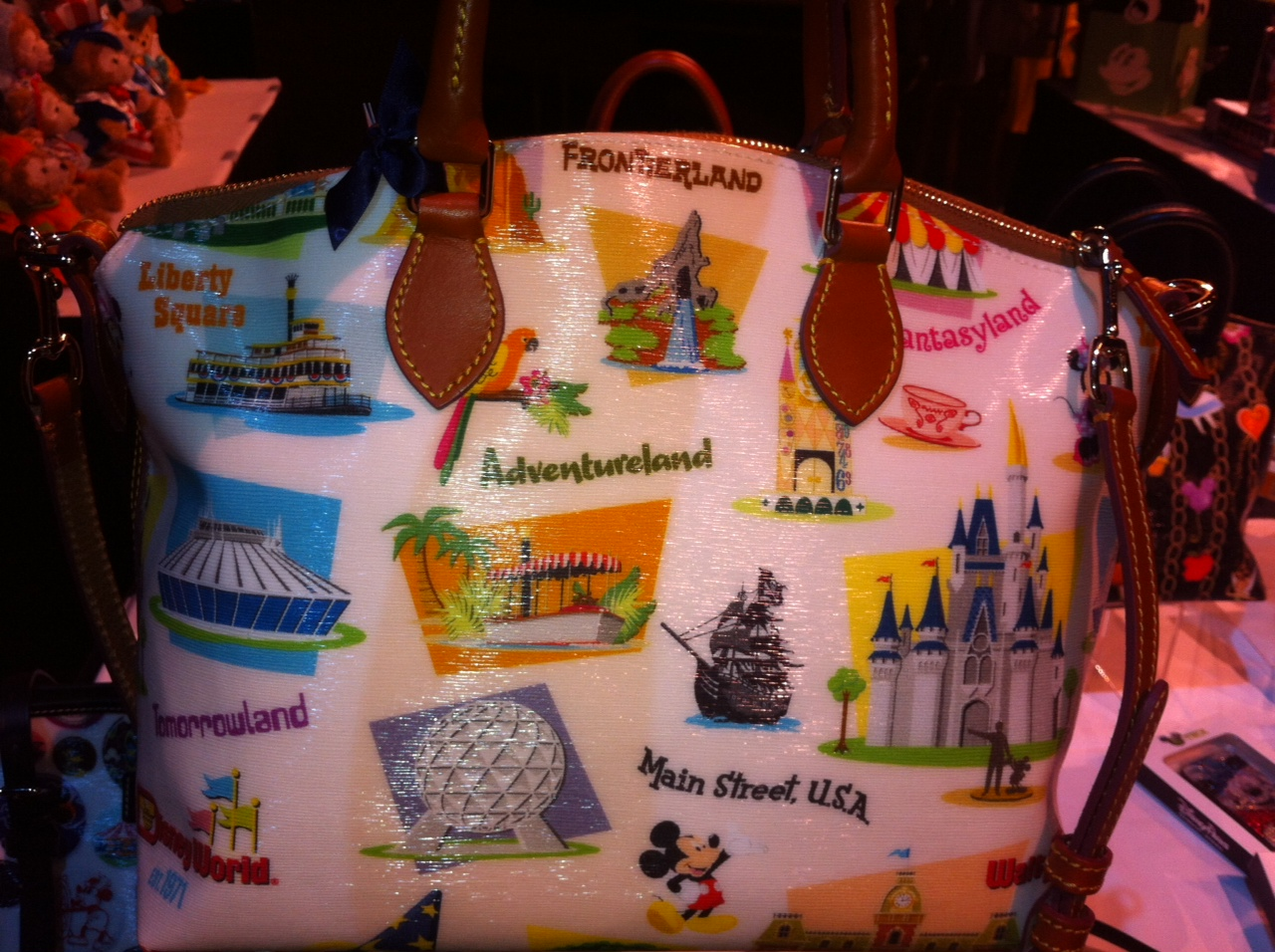 Disney Dooney and Bourke Walt Disney World Retro Collection Bags
