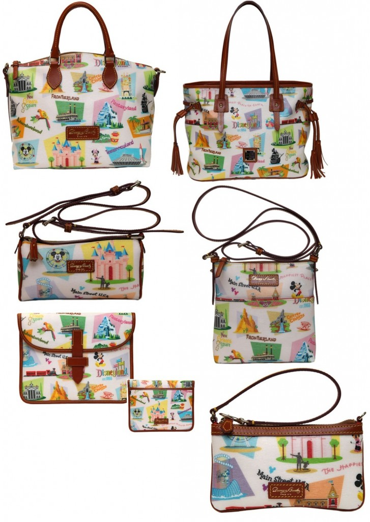 Pics photos disneyland paris dooney bourke retro tote bag available