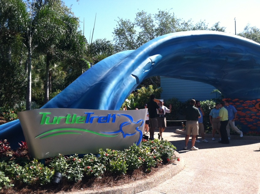 Photos and Facts on SeaWorld Orlando's New Turtle Trek Experience