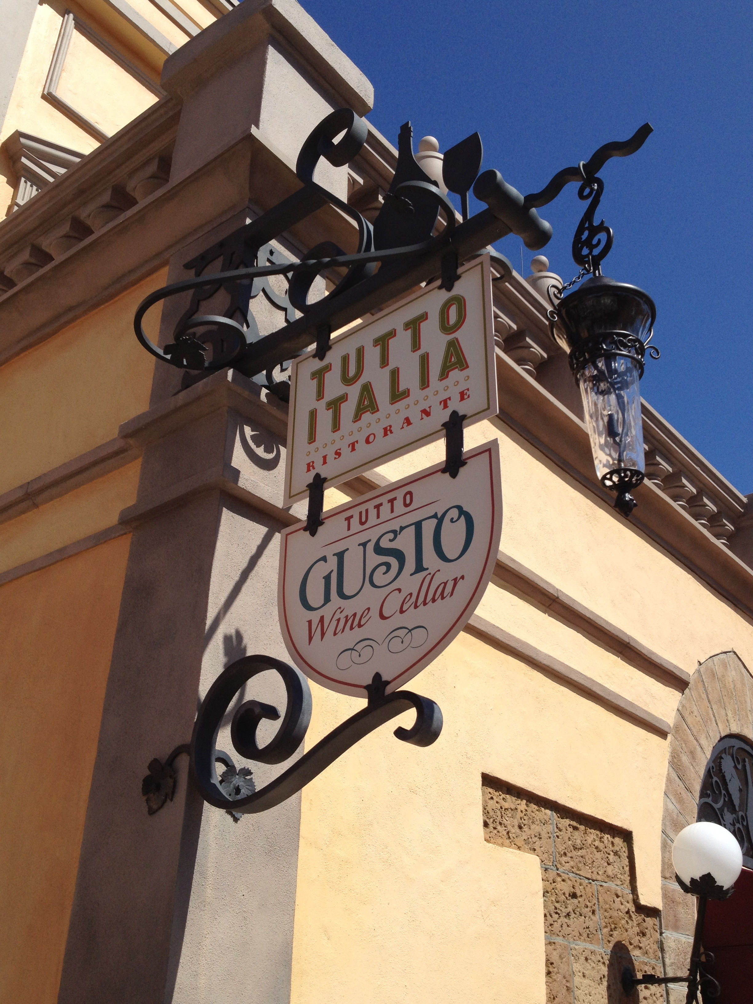 Photo Tour of the Epcot's All-New Tutto Gusto Wine Cellar in Italy