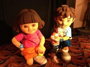 Dora, Diego and Gio