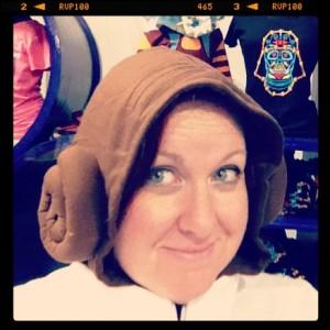 Princess Leia hoodie