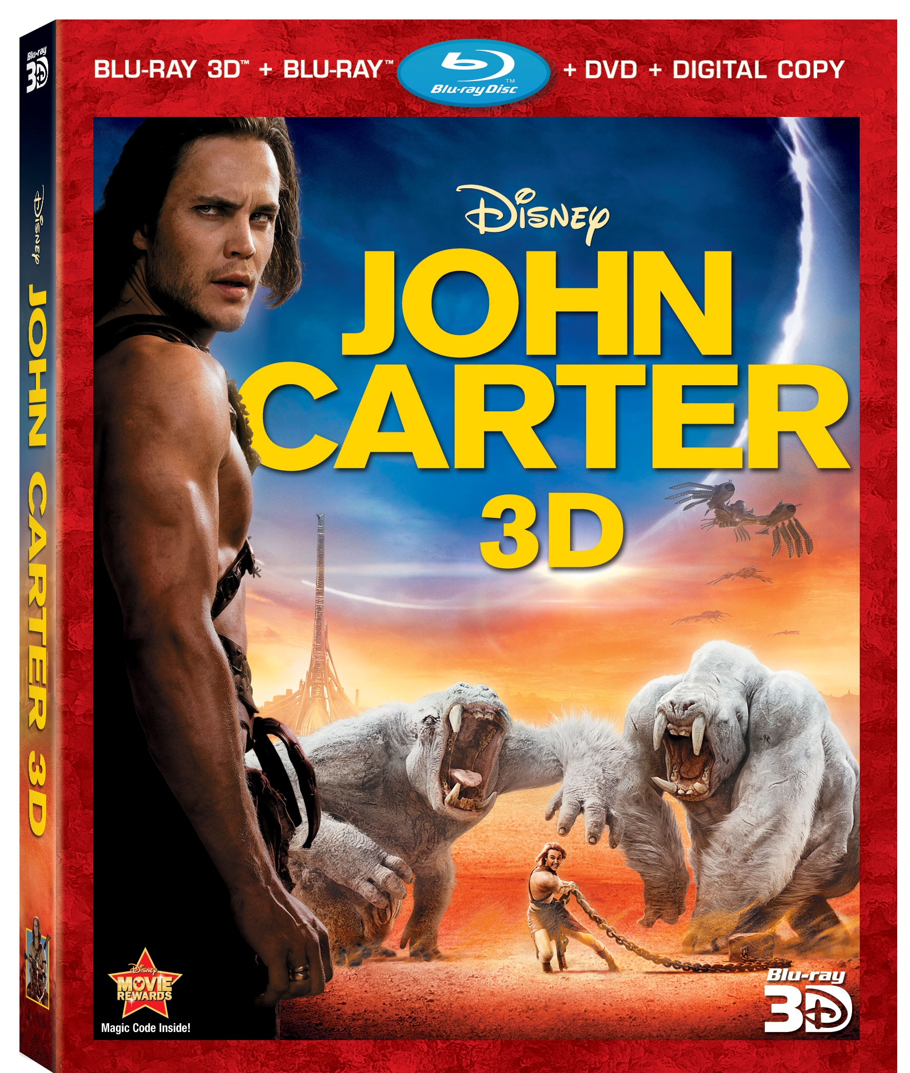 GIVEAWAY – JOHN CARTER Blu-Ray/DVD Combo Pack [CLOSED]