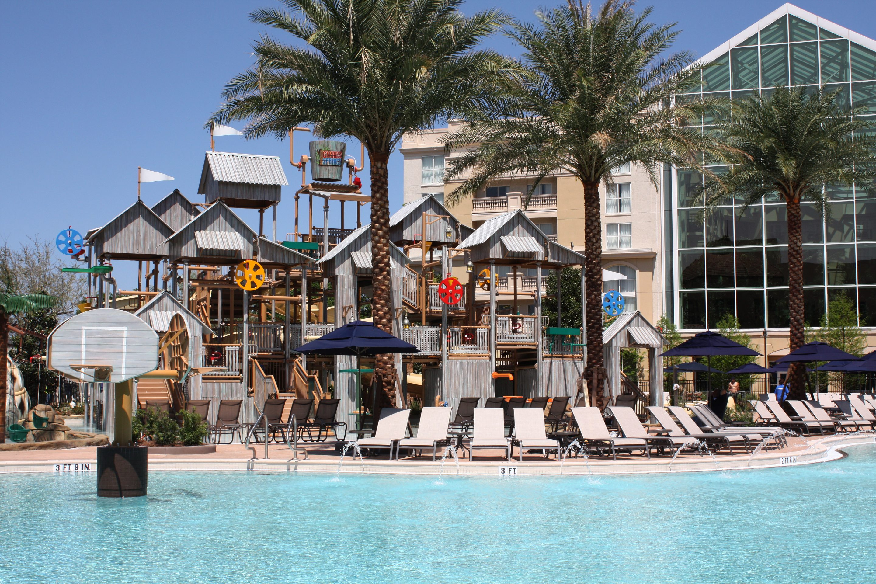 Gaylord Palms Orlando Opens Cypress Springs Water Park and Renovated Rooms