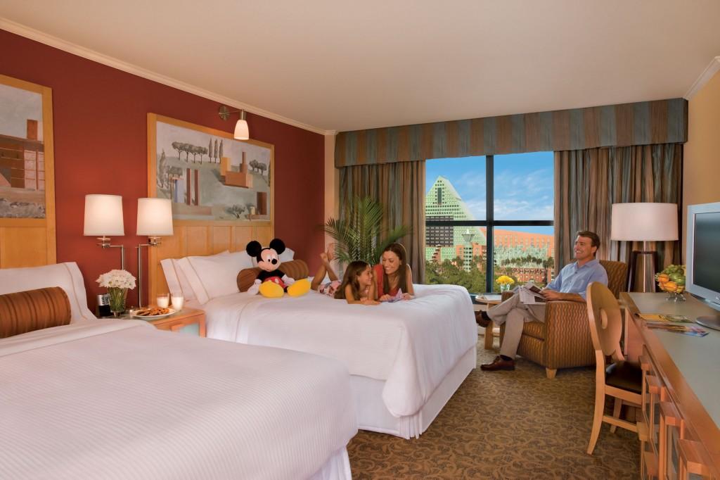 Swan guest room