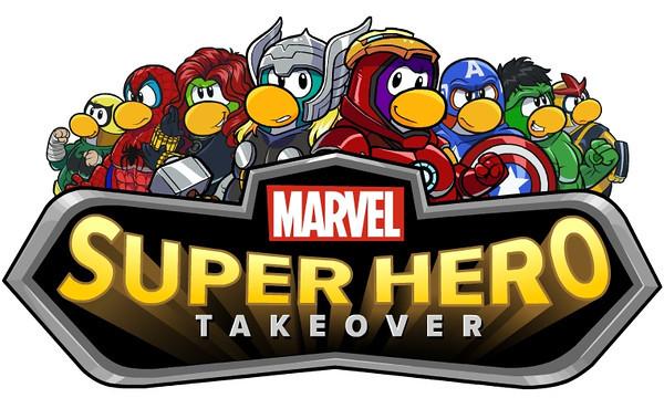 Club Penguin Marvel Super Hero Takeover