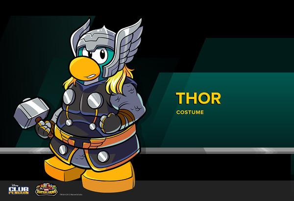 Club Penguin Marvel Super Hero Takeover - Thor