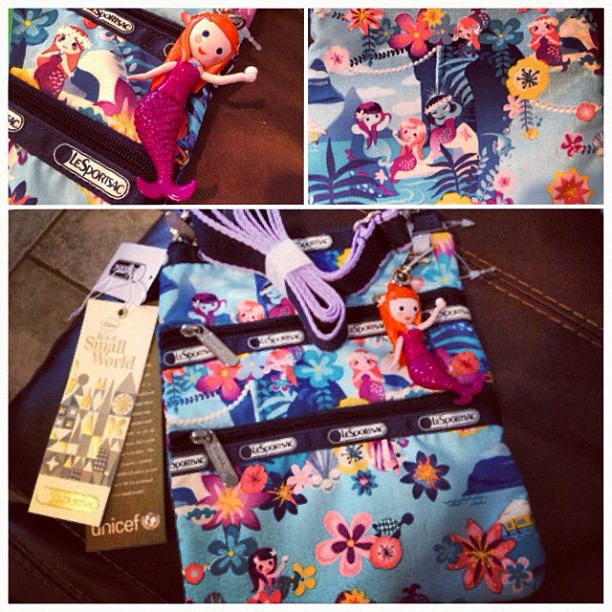 Mary Blair Le Sportsac Small World Tahitian