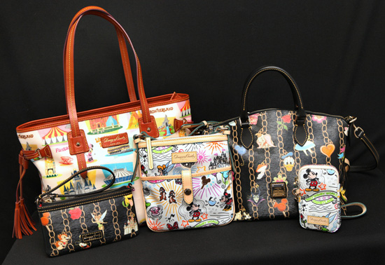 NEWS: Dates for Disney Dooney & Bourke Charms, Retro Bags and More New Styles!