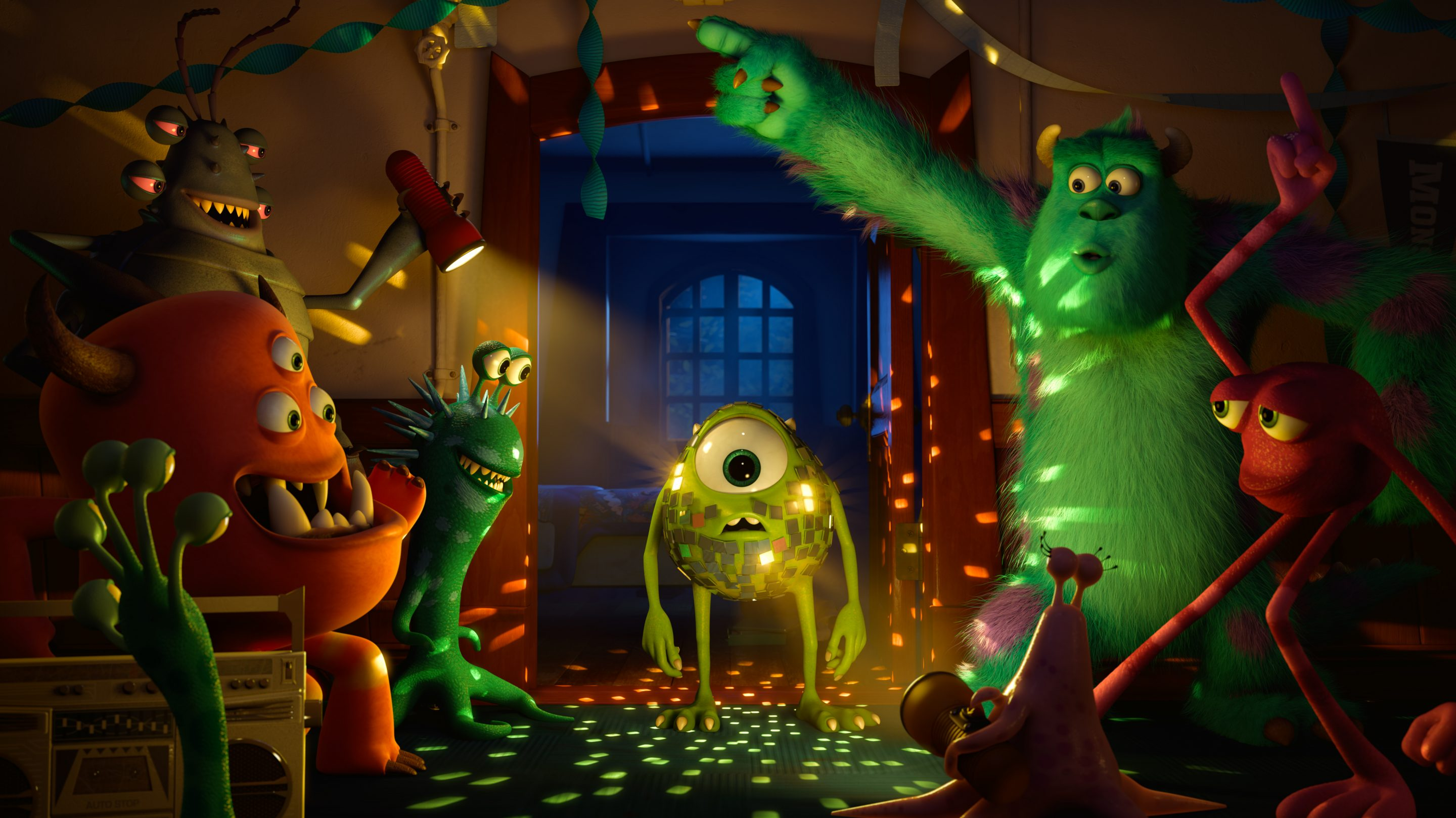 Disney Pixar Monsters University Teaser Trailers and Movie Images