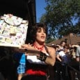 Today at the Disney Dooney and Bourke launch event at Downtown Disney's Tren-D, in addition to the Walt Disney World Retro line and Charms line, two new nylon bags were released. The original Cindy Sketch is now available in a backpack and large satchel style, both made with a light...