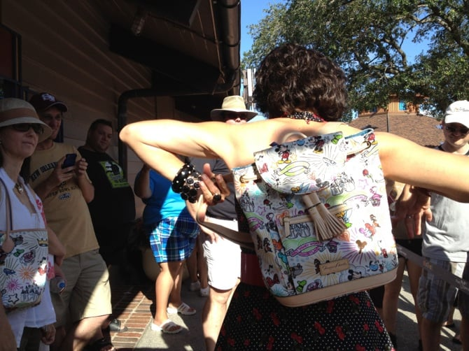 Disney Dooney backpack