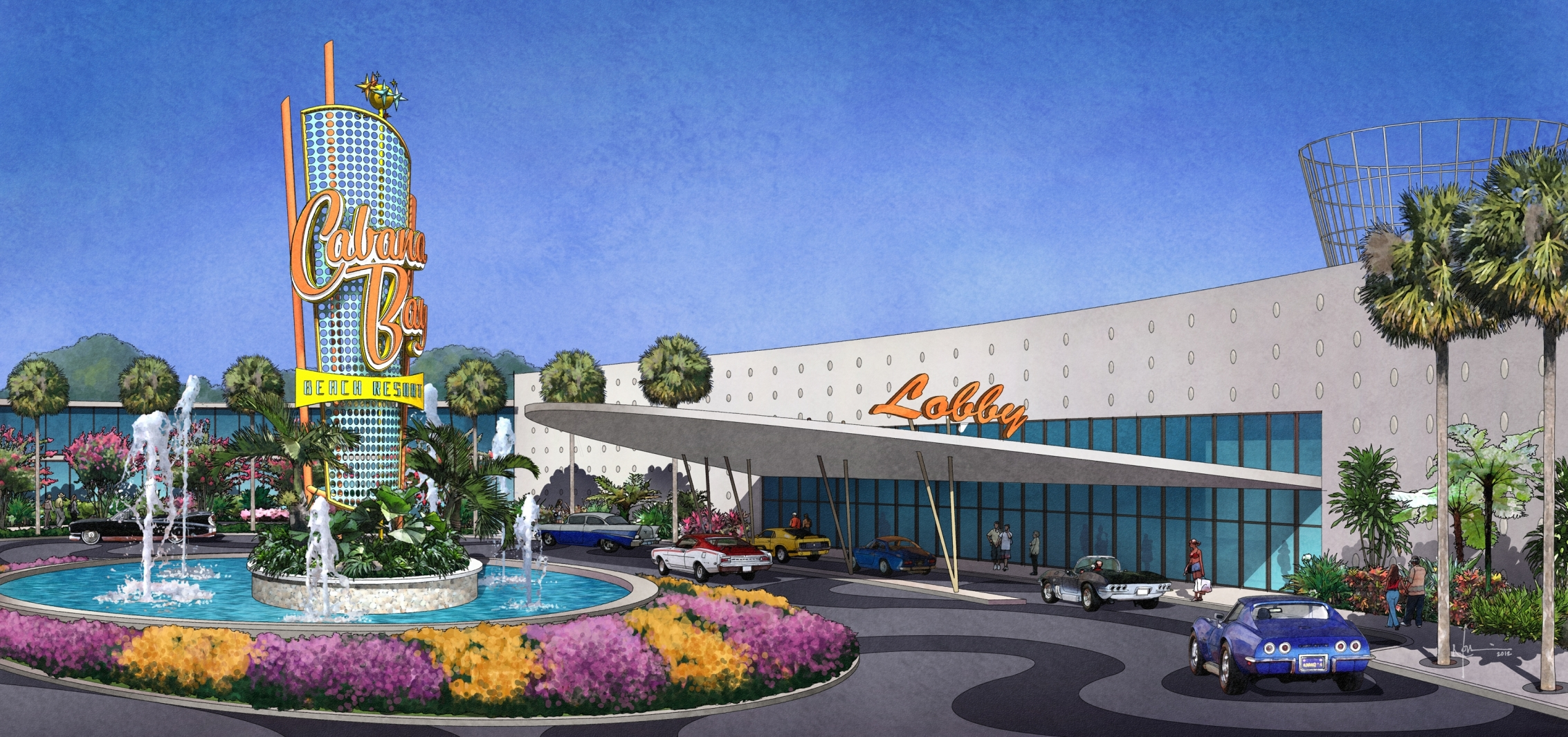 New 50's-Themed Family Suite and Value Hotel Announced at Universal Orlando
