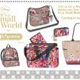 "We mentioned in the last LeSportsac post featuring the ""it's a small world"" line of bags and accessories inspired by Mary Blair, that there would be seasonal designs coming out throughout the year. LeSportsac has just released the first image of its Fall 2012 line for the Small World designs. […]"