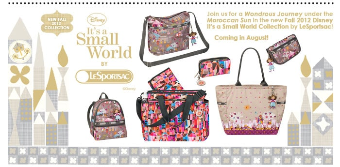 LeSportsac Fall Small World line
