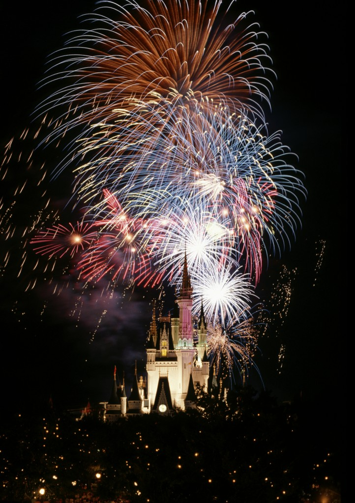 JULY 4TH CELEBRATED AT WALT DISNEY WORLD IN FLORIDA