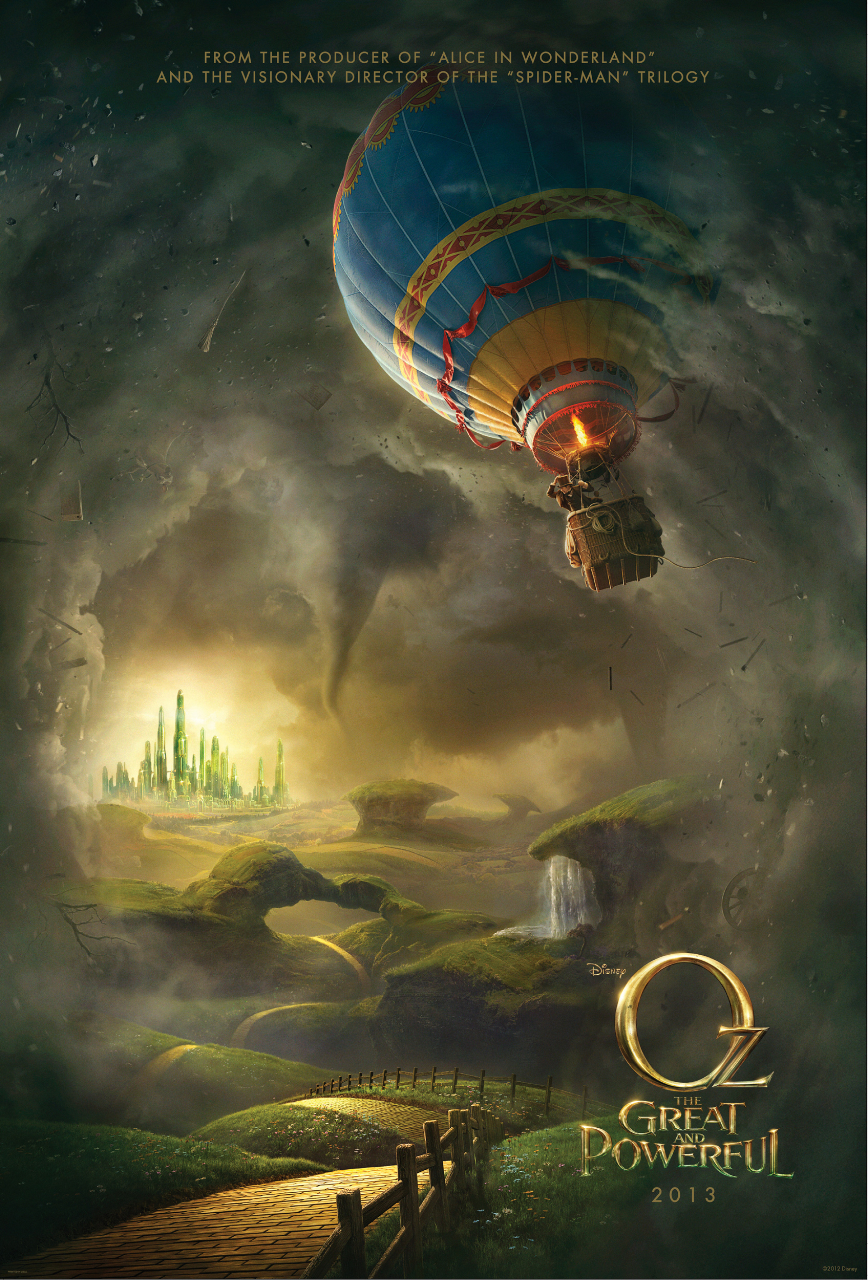 FIRST TRAILER For Oz the Great and Powerful