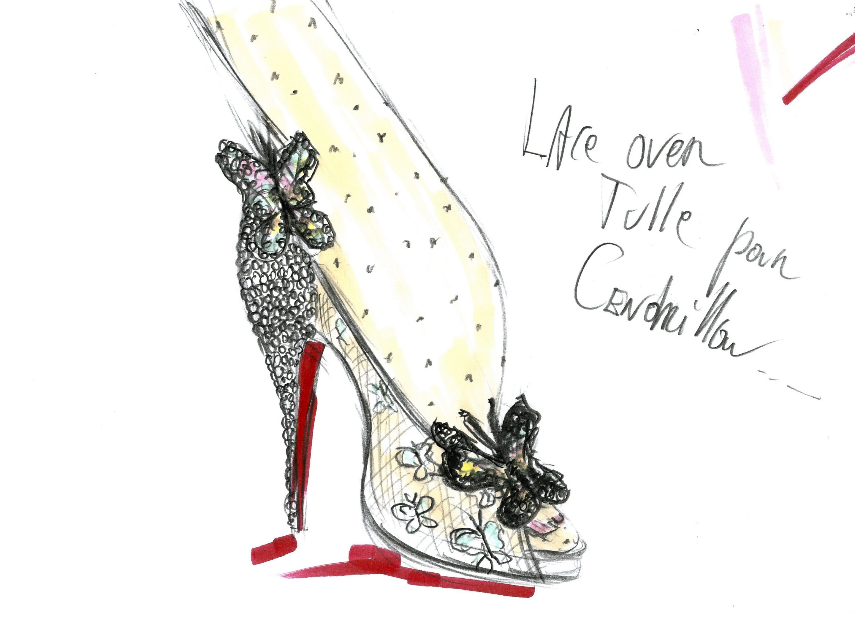 christian louboutin unveils gorgeous cinderella inspired