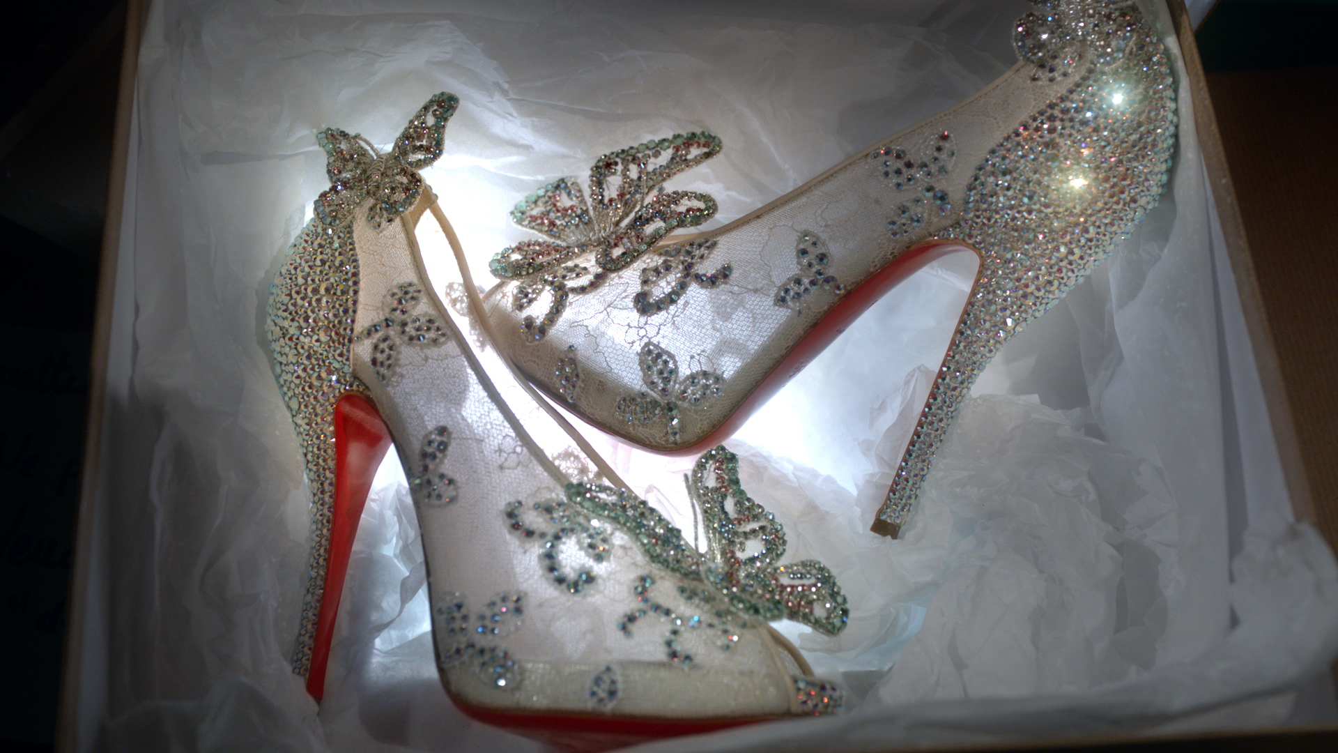 christian louboutin cinderella shoes how much