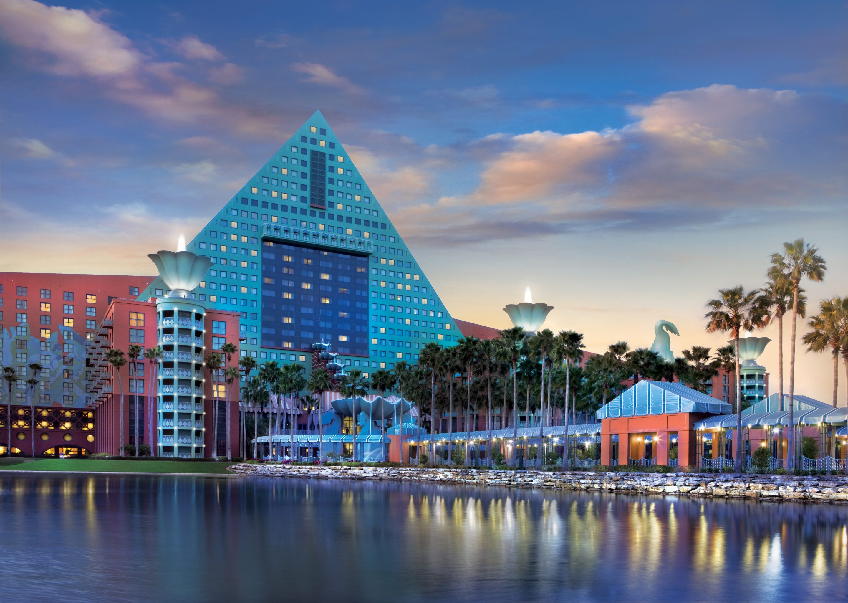 Celebrate the Olympic Games at the Walt Disney World Dolphin Hotel