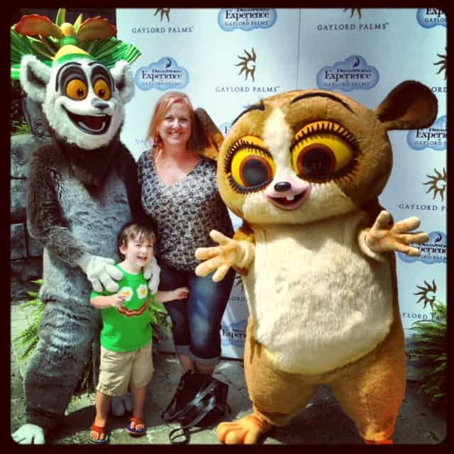Move It Move It to Gaylord Palms this Winter for ICE! Featuring Merry Madagascar