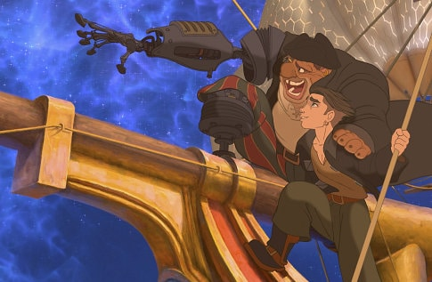 Treasure Planet and Home on the Range Now on Blu-ray