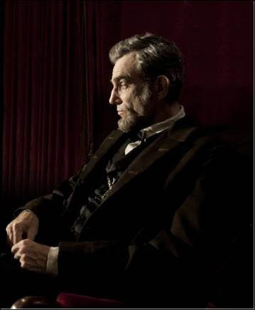 FIRST IMAGE: Daniel Day Lewis in Steven Speilberg's Lincoln