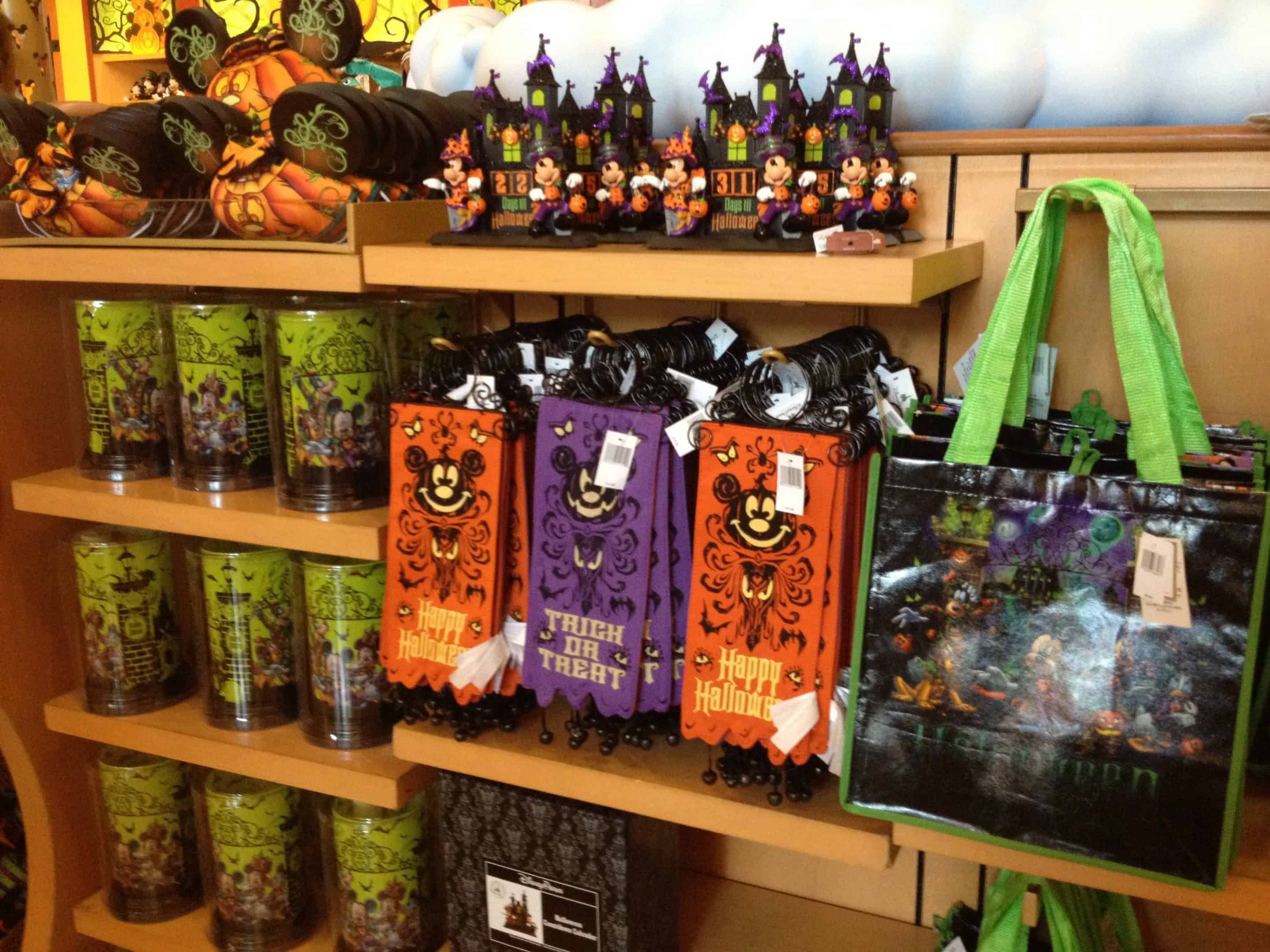 disney parks halloween merchandise for 2012 video - zannaland