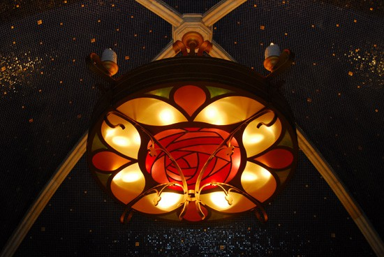 Chandelier from Be Our Guest Restaurant