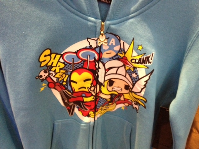 More Marvel Tokidoki Shirts Bring on the Super+Cute!