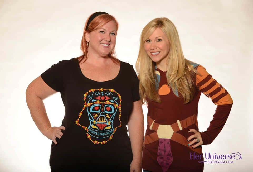 Suzannah and Ashley Eckstein