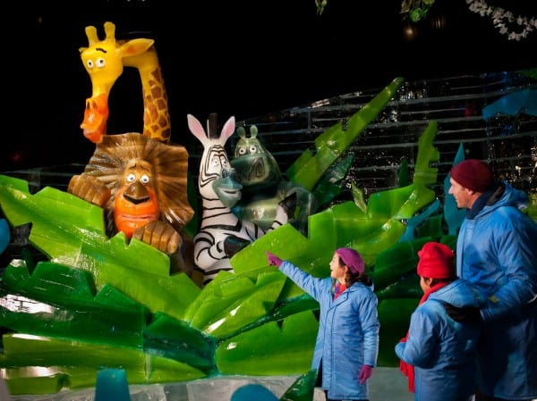 ICE! featuring DreamWorks' Merry Madagascar at Gaylord Palms Resort