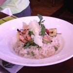 Raglan Risotto with shrimp