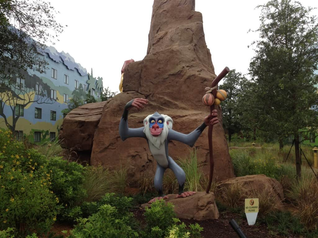 Disney's Art of Animation Resort Lion King Section