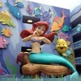 "On my recent tour of Disney's Art of Animation Resort, I also checked out the newest area, the Little Mermaid section. These rooms are the traditional ""value"" rooms seen in other resorts, not the family suites or ""value plus"" experience found in the Finding Nemo, Cars, and Lion King buildings...."
