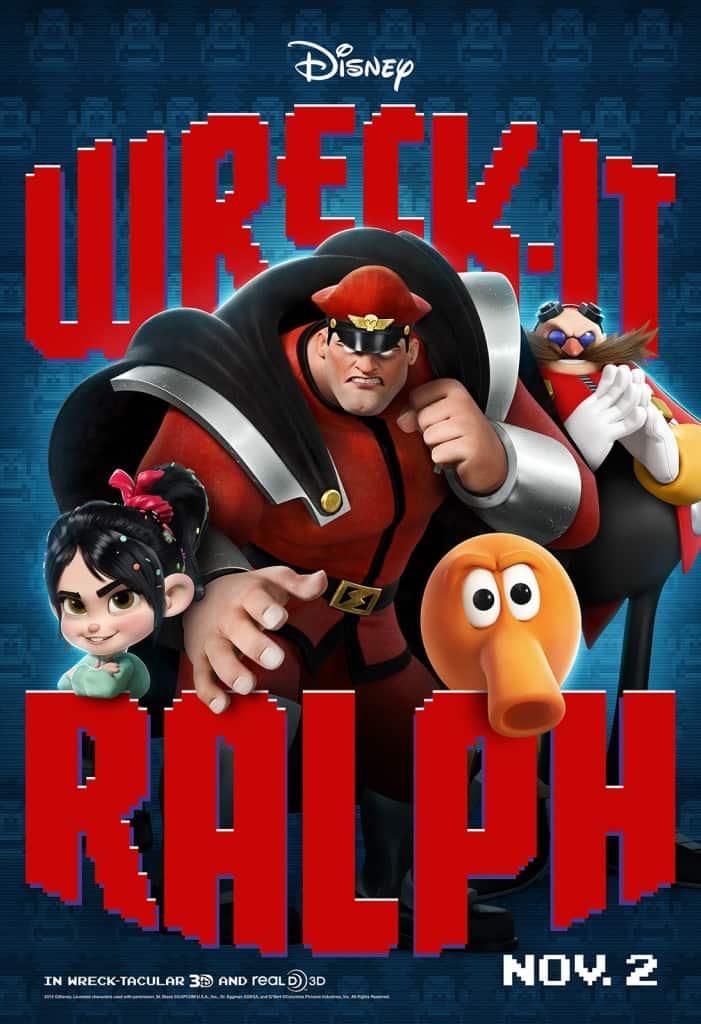 Wreck-It Ralph Q*bert movie poster