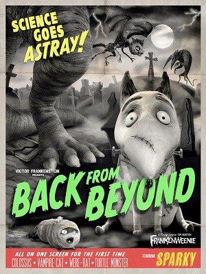 Tim Burton S Frankenweenie A Fun Homage To Creepy Movies Past Zannaland