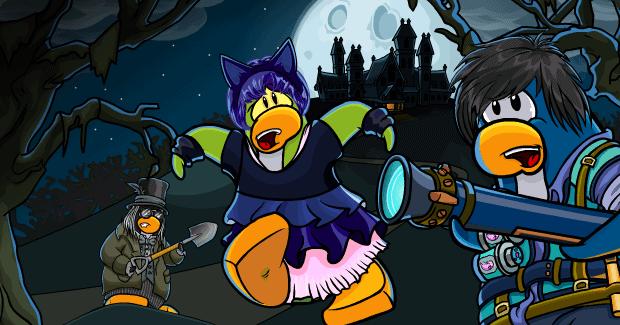 Club Penguin Halloween Party