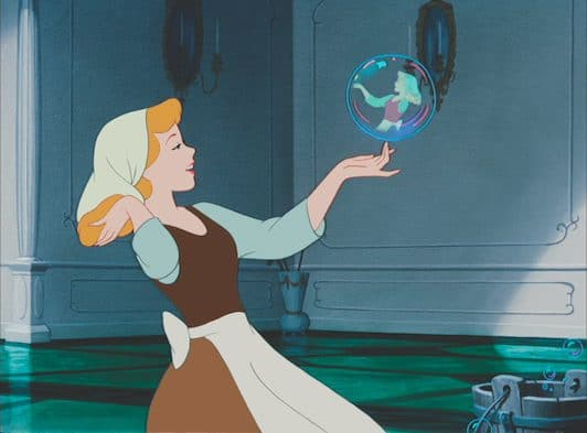 Cinderella Bubble
