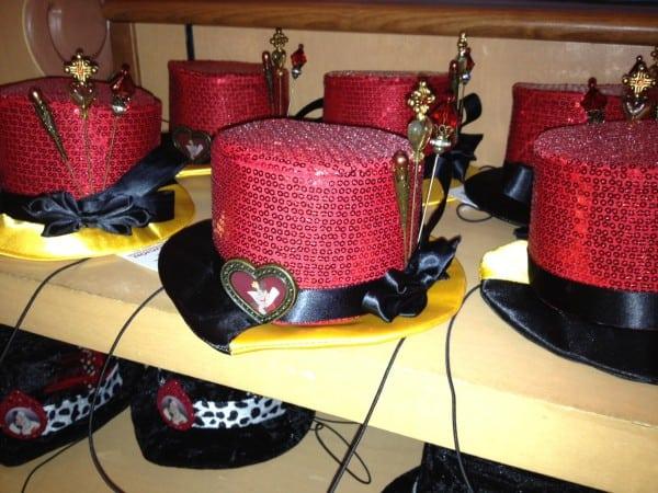 Queen of Hearts tiny hat