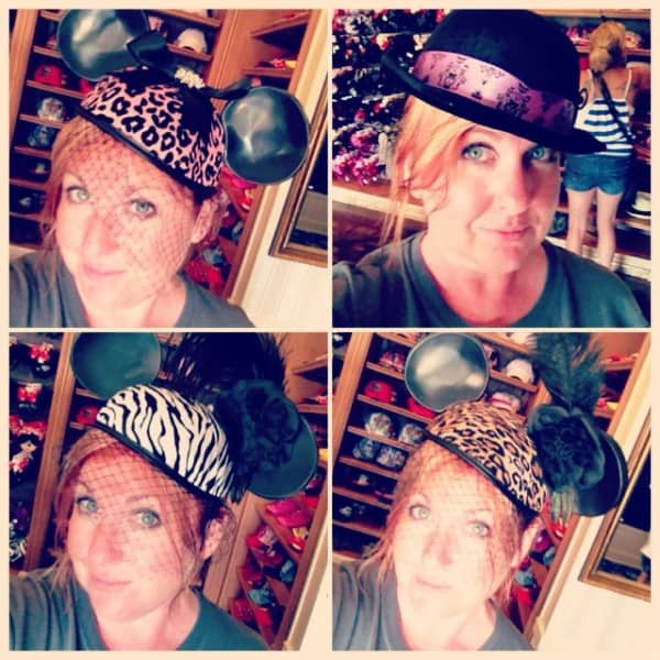 Animal print Mouse Ear Hats