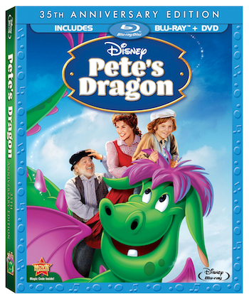 Pete's Dragon on Blu-Ray for Die-Hard Disney Fans