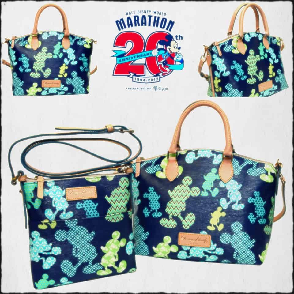 Walt Disney World 20th Anniversary Marathon Dooney & Bourke Bags