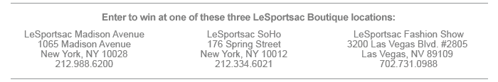 LeSportsac locations