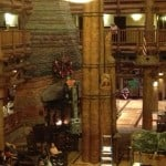 Wilderness Lodge Christmas Tree Installation