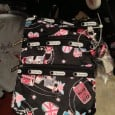 "LeSportsac's collaboration with Disney, using Mary Blair-inspired designs under the ""it's a small world"" moniker, is quickly gaining popularity just like the Disney Dooney & Bourke collection has done for the past few years. With the success of the initial summer Disney LeSportsac line, the Fall and Winter line started..."