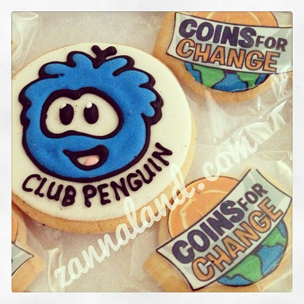 Club Penguin cookies
