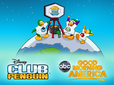 Disney Club Penguin Helps Kids Give Back With Coins for Change