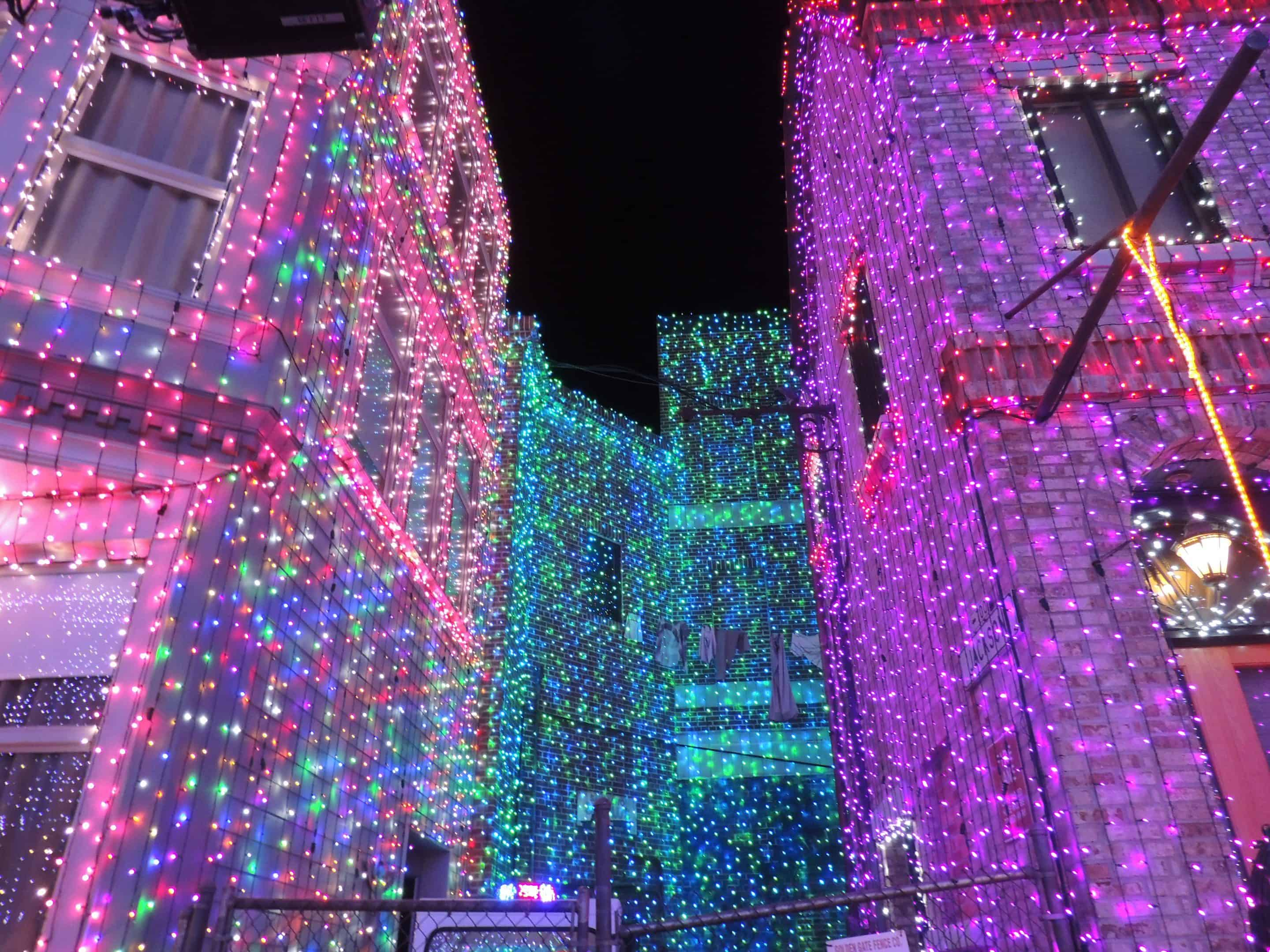 PHOTO TOUR of the Osborne Family Spectacle of Dancing Lights!