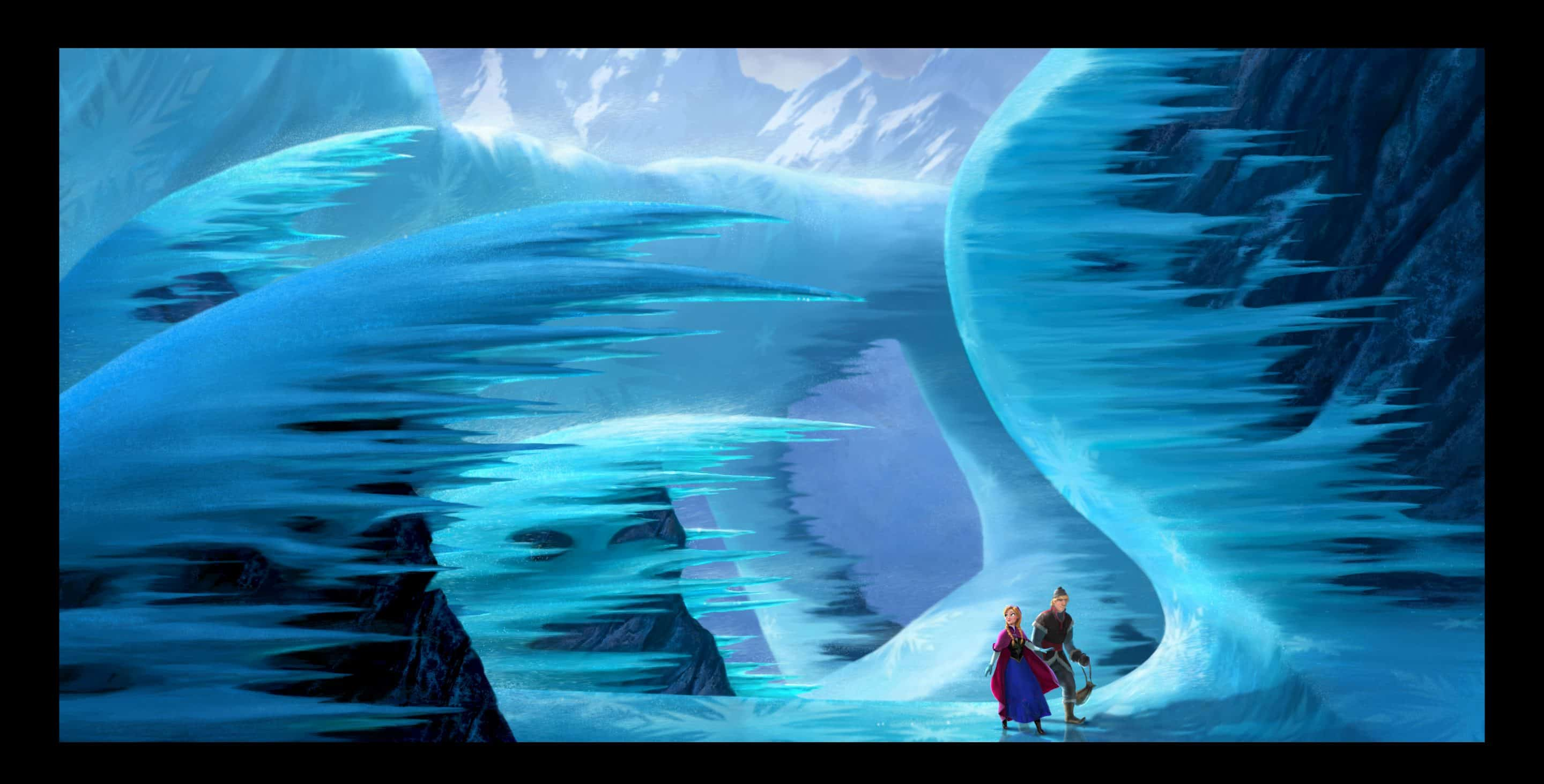 News for Disney's Frozen Animated Feature: Concept Art and Voice Talent